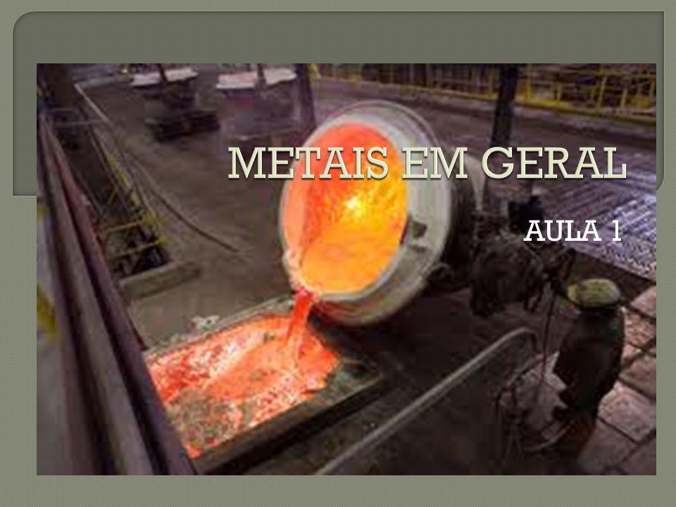 METAIS EM GERAL AULA 1