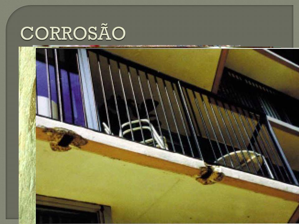 CORROSÃO A corrosão pode ser classificada em: