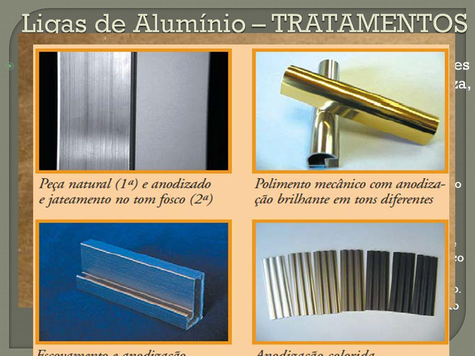 Ligas de Alumínio – TRATAMENTOS