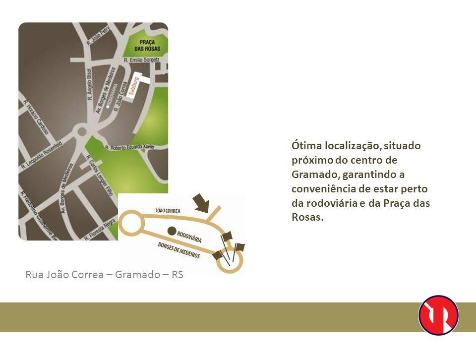 Ótima localização, situado próximo do centro de Gramado, garantindo a conveniência de estar perto da rodoviária e da Praça das Rosas.