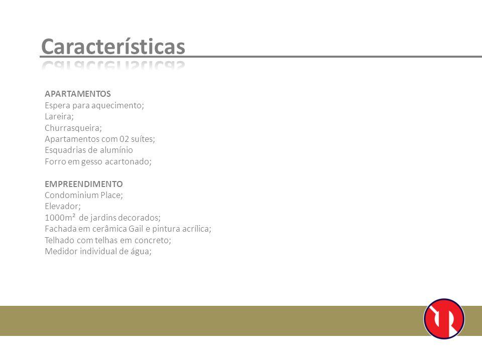 Características APARTAMENTOS Espera para aquecimento; Lareira;