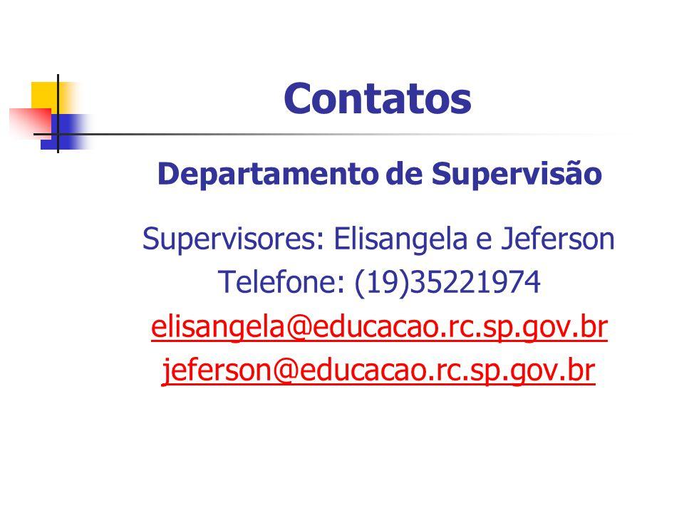 Departamento de Supervisão