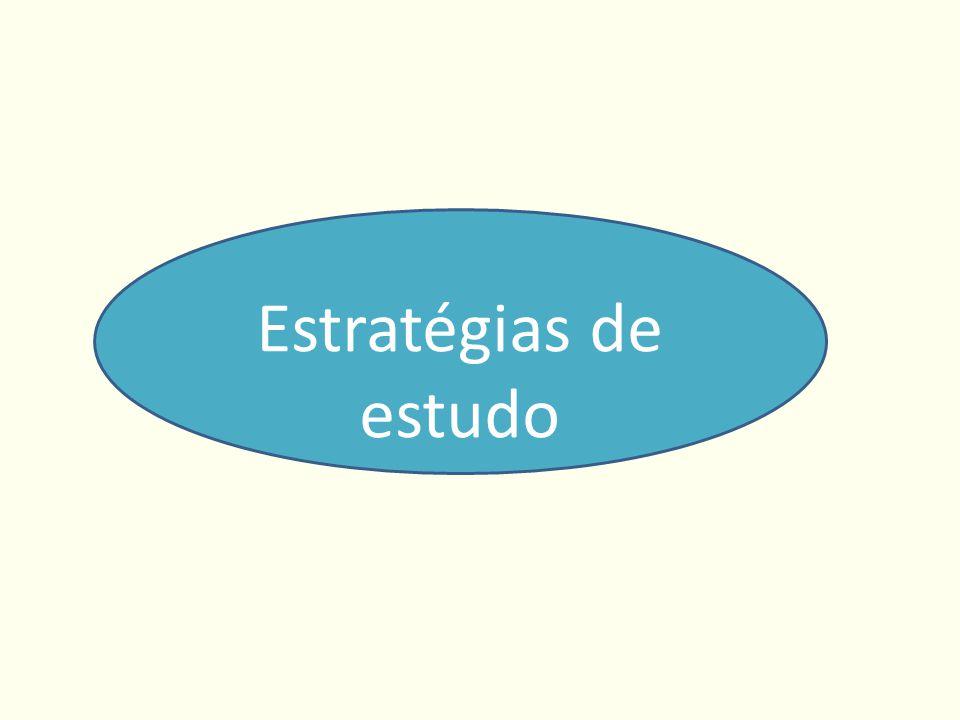 Estratégias de estudo