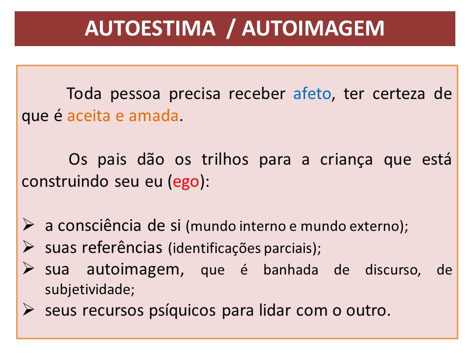 Autoestima / autoimagem
