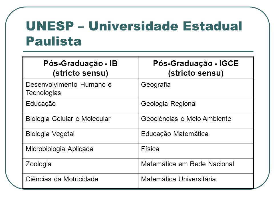 UNESP – Universidade Estadual Paulista