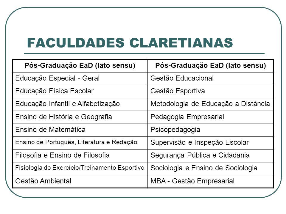 FACULDADES CLARETIANAS