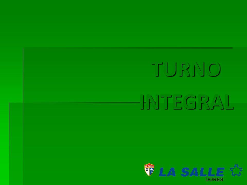 TURNO INTEGRAL