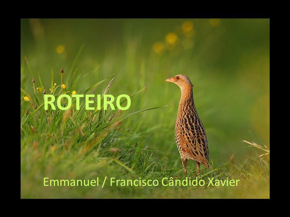 ROTEIRO Emmanuel / Francisco Cândido Xavier