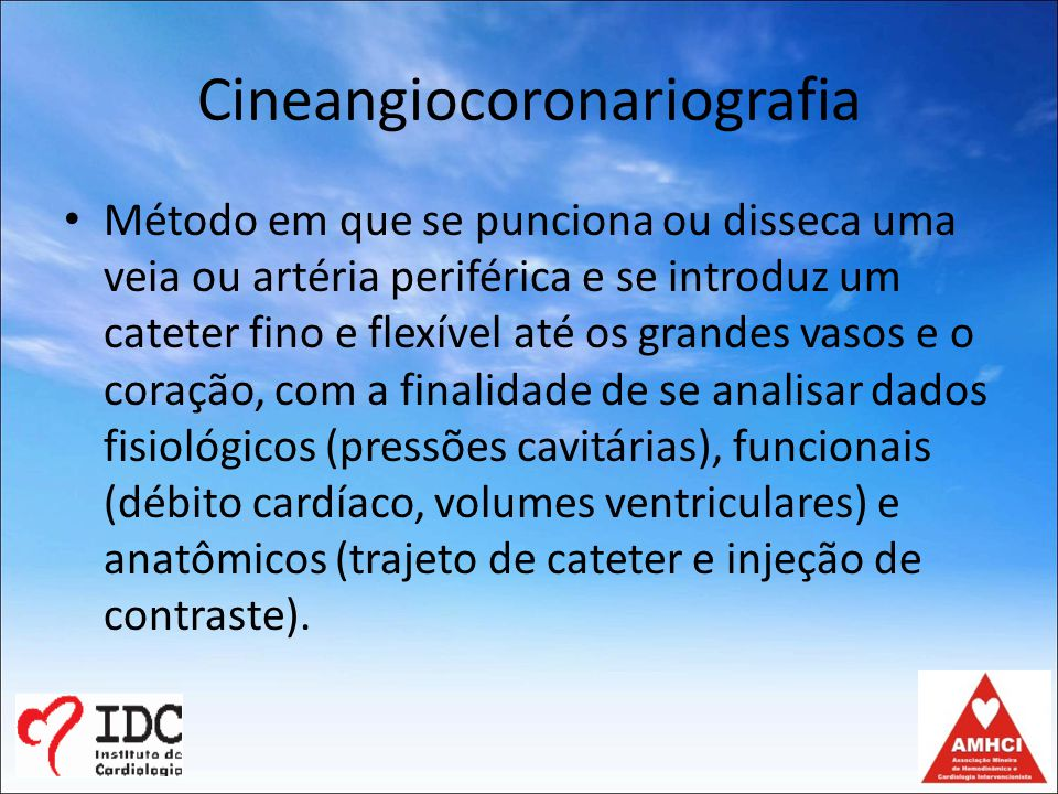 Cineangiocoronariografia