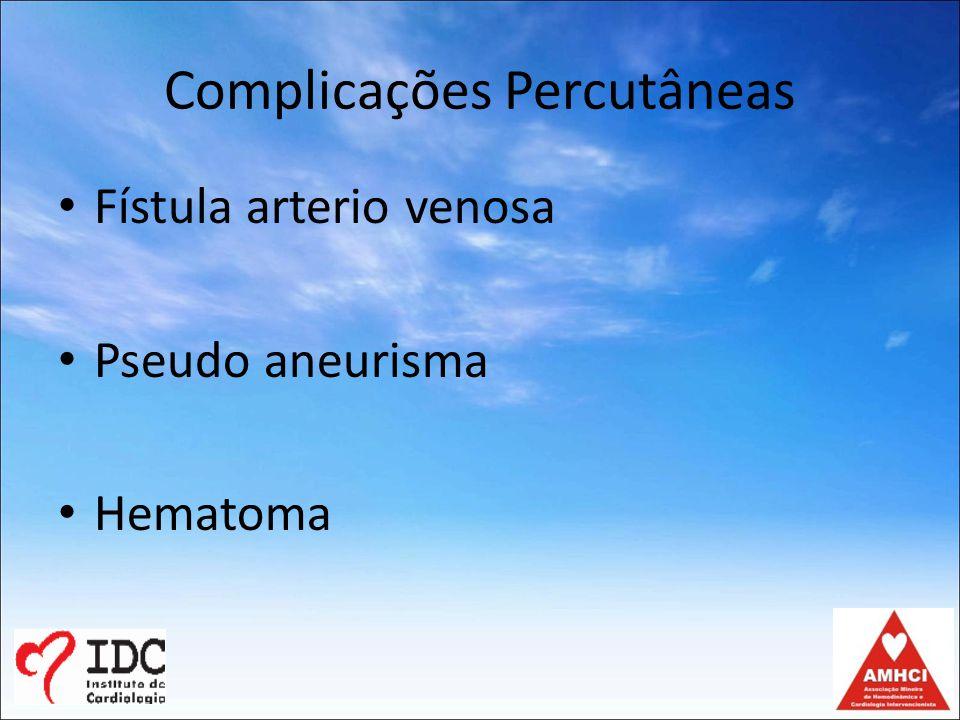 Complicações Percutâneas