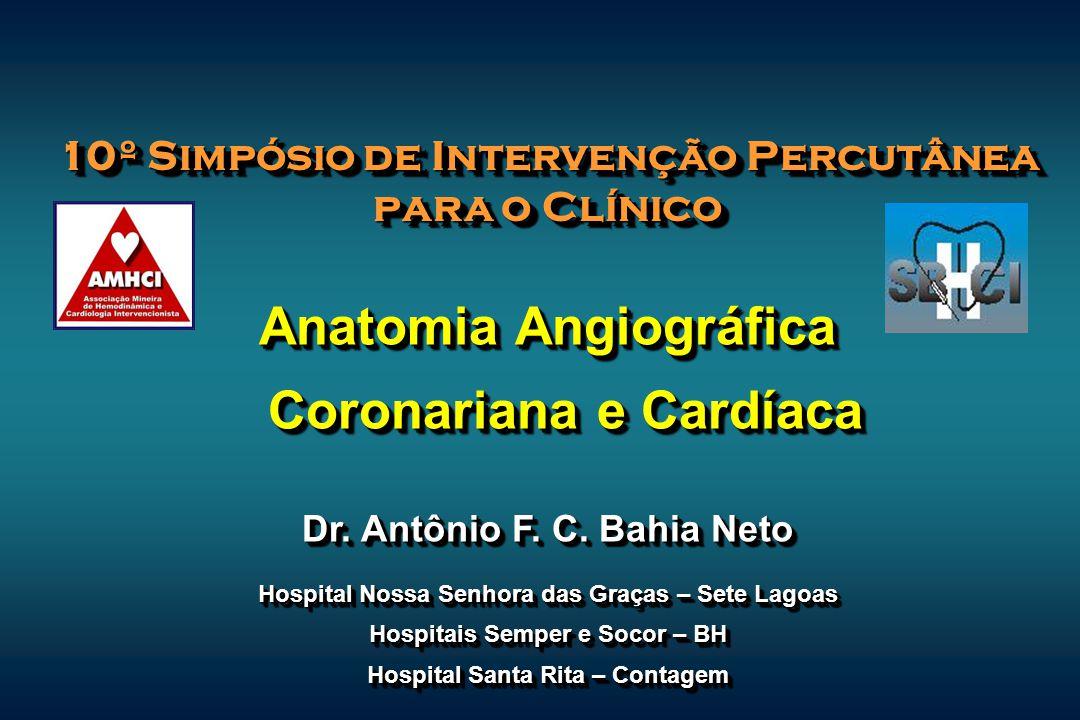 Anatomia Angiográfica Coronariana e Cardíaca