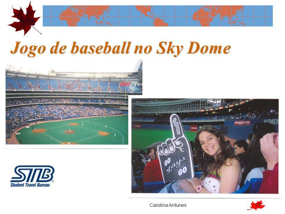 Jogo de baseball no Sky Dome