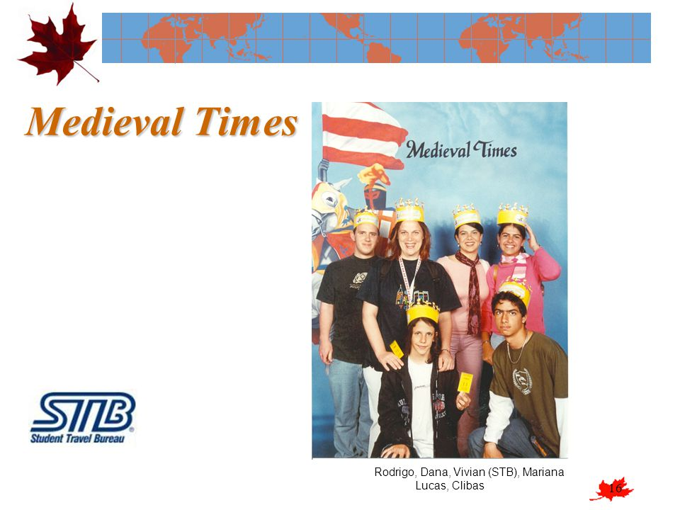 Medieval Times Rodrigo, Dana, Vivian (STB), Mariana Lucas, Clibas