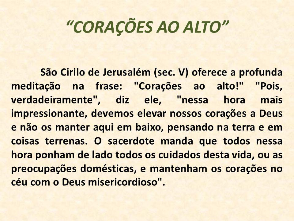 CORAÇÕES AO ALTO