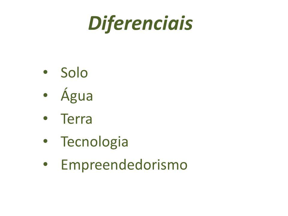 Diferenciais Solo Água Terra Tecnologia Empreendedorismo