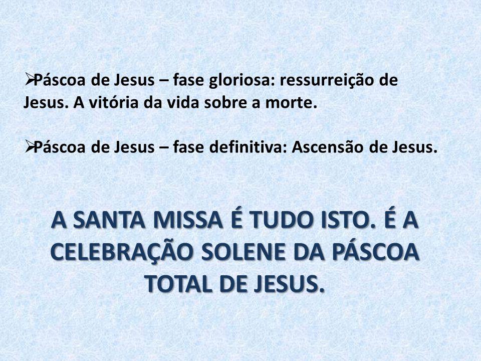 Páscoa de Jesus – fase gloriosa: ressurreição de Jesus