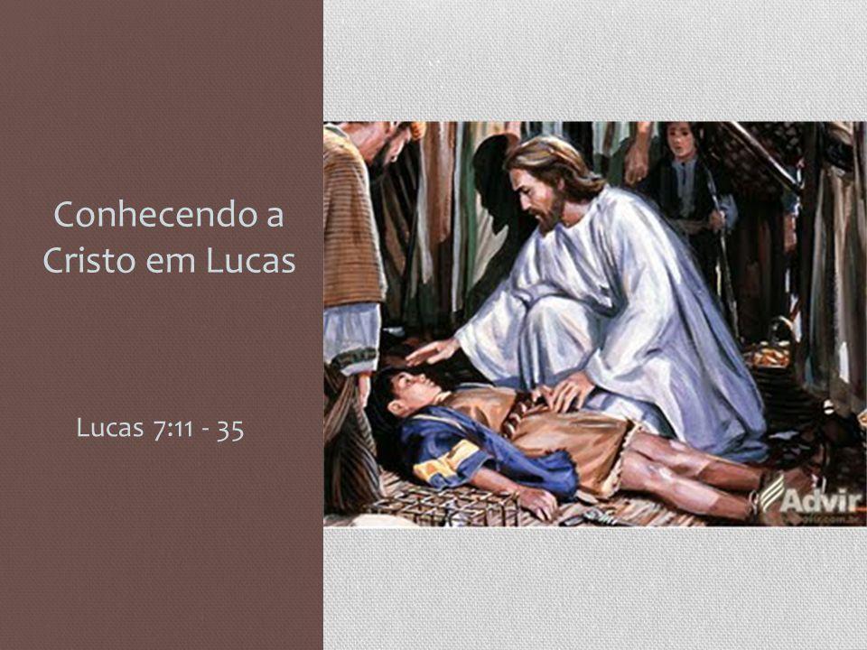 Conhecendo a Cristo em Lucas