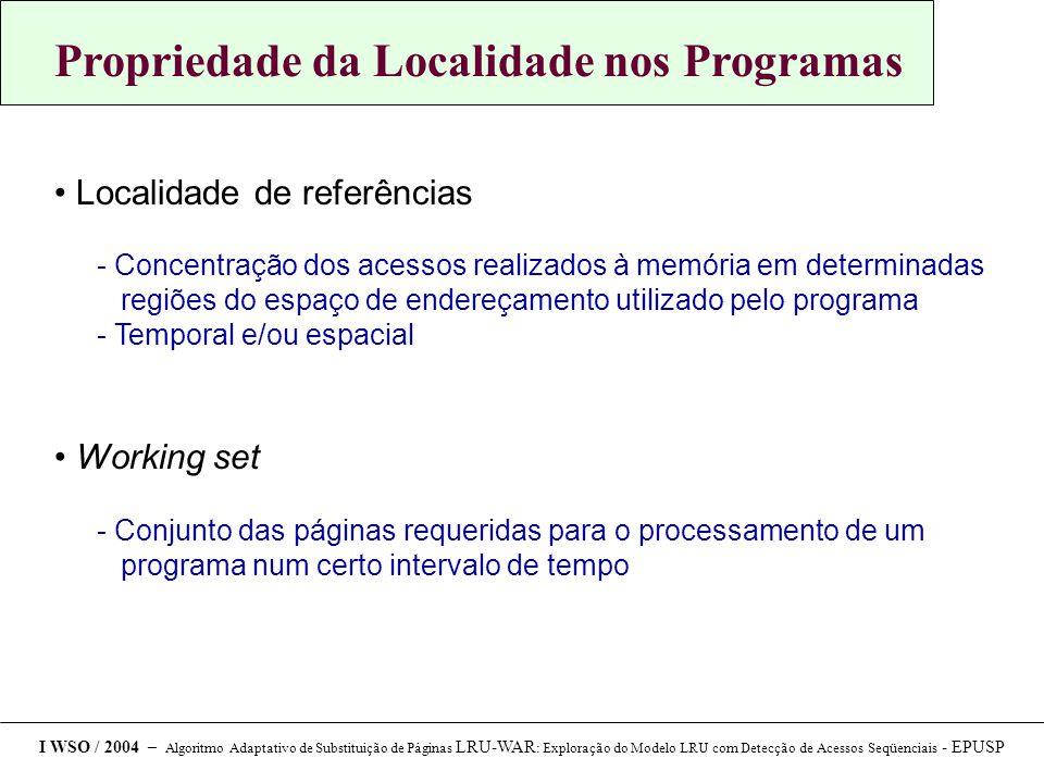 Propriedade da Localidade nos Programas
