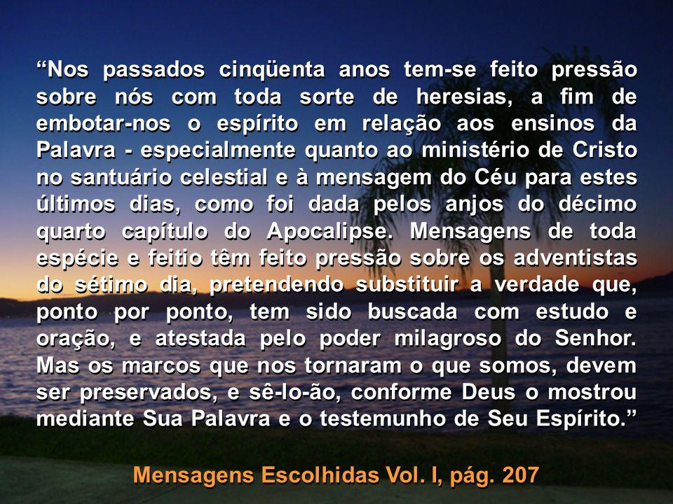 Mensagens Escolhidas Vol. I, pág. 207