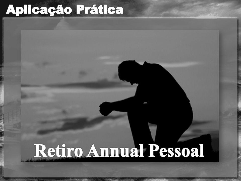 Aplicação Prática Retiro Annual Pessoal