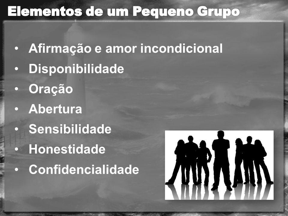 Elementos de um Pequeno Grupo