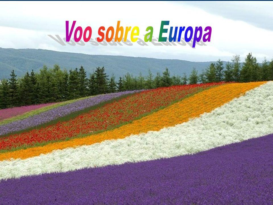 Voo sobre a Europa