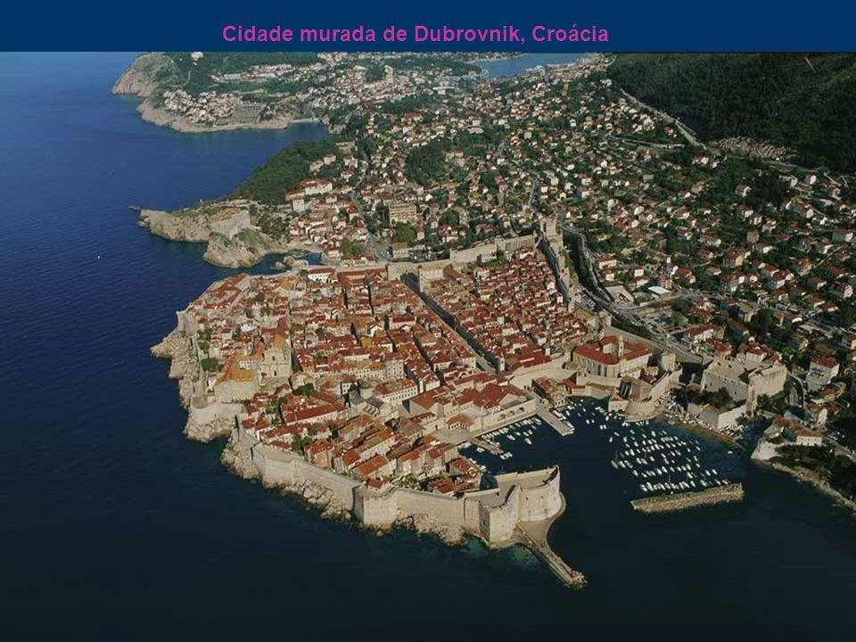 Cidade murada de Dubrovnik, Croácia