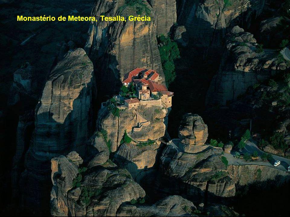 Monastério de Meteora, Tesalla, Grécia