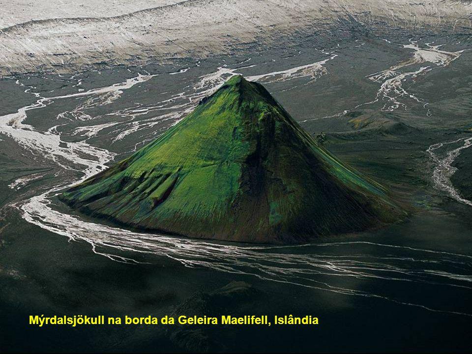 Mýrdalsjökull na borda da Geleira Maelifell, Islândia