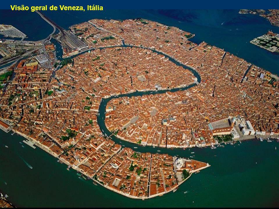 Visão geral de Veneza, Itália