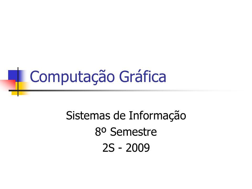 Sistemas de Informação 8º Semestre 2S - 2009