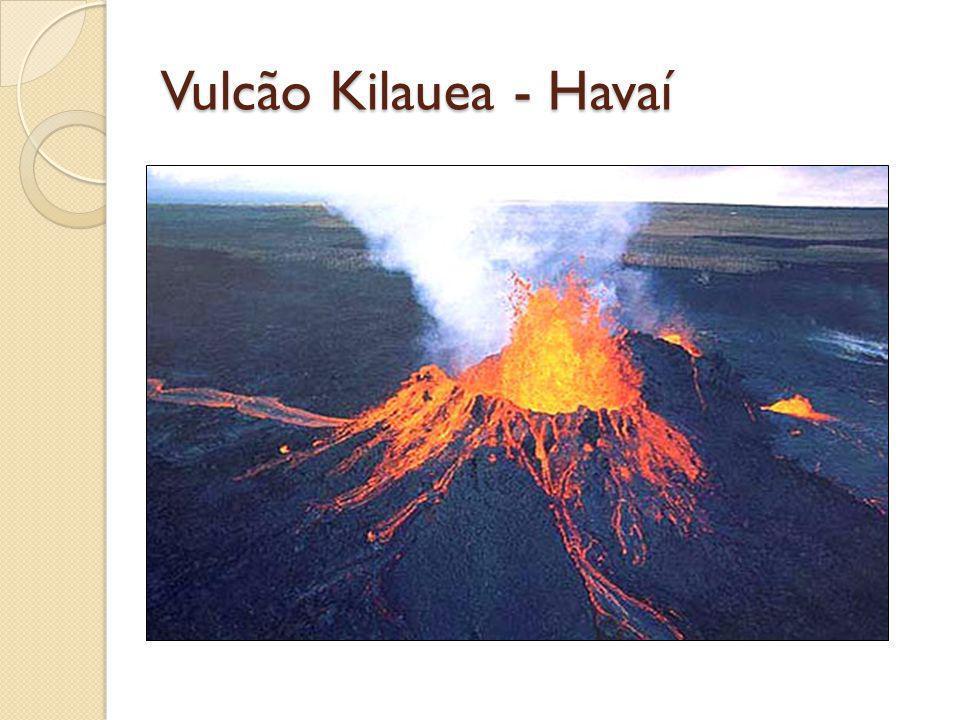 Vulcão Kilauea - Havaí