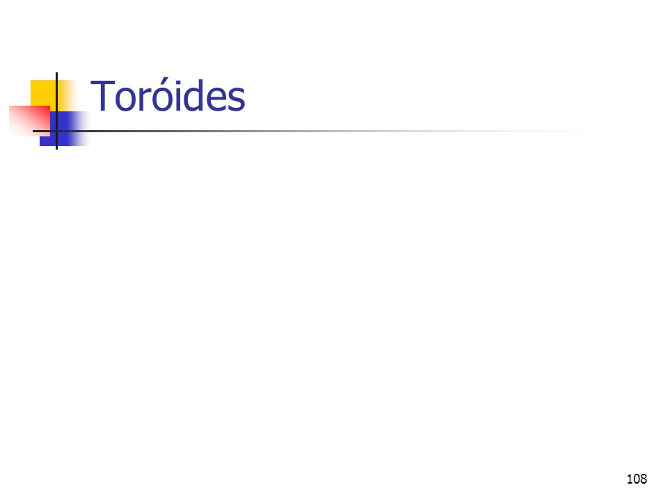 Toróides