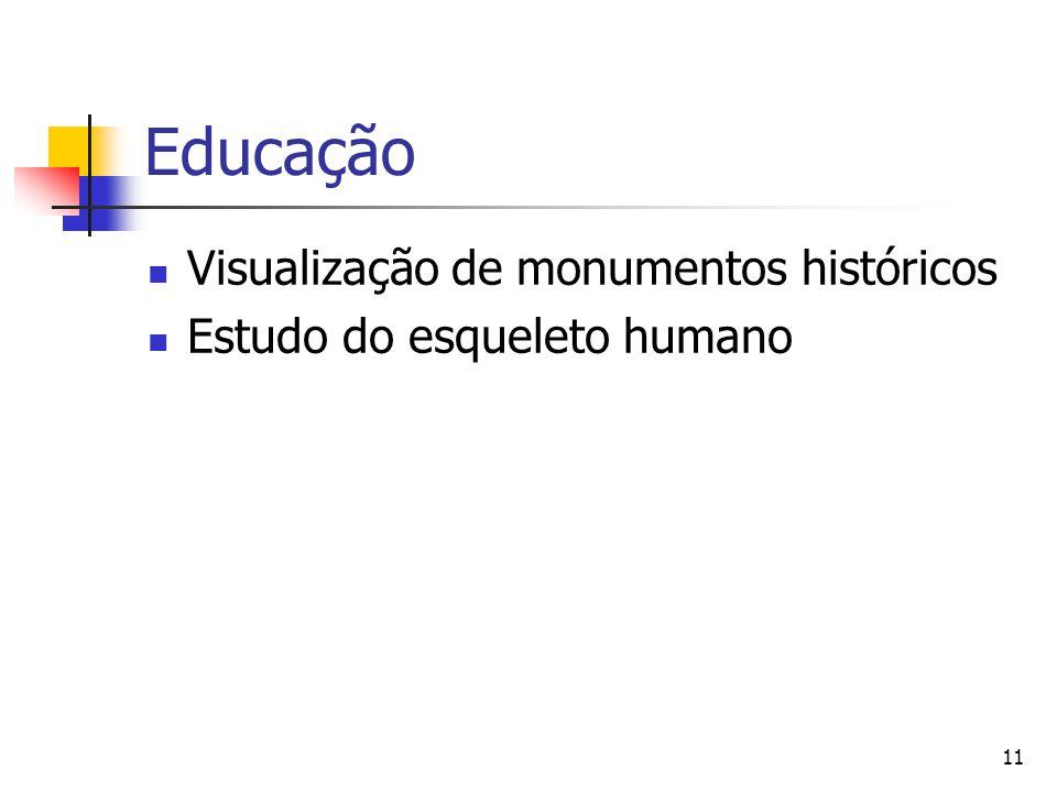 Educação Visualização de monumentos históricos