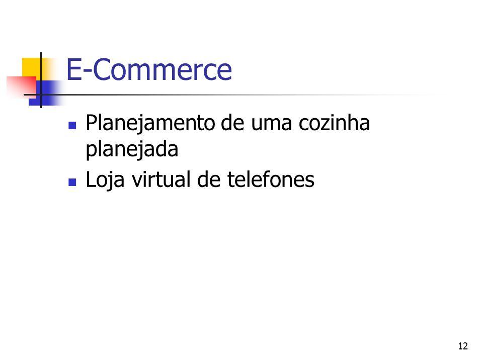 E-Commerce Planejamento de uma cozinha planejada