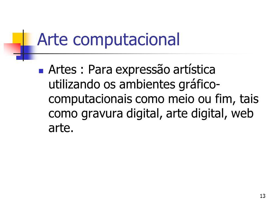 Arte computacional