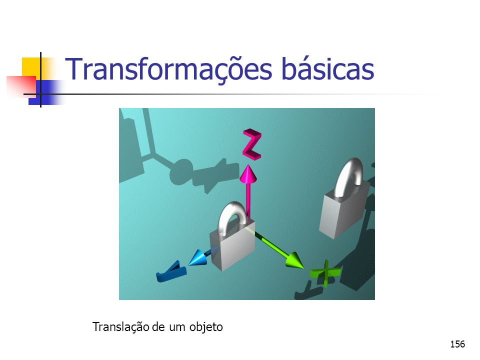 Transformações básicas