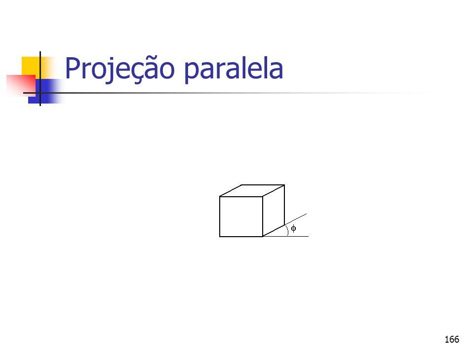 Projeção paralela