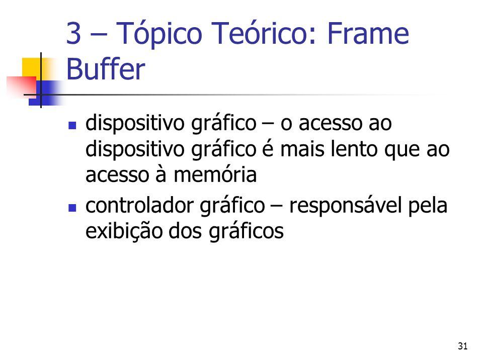 3 – Tópico Teórico: Frame Buffer