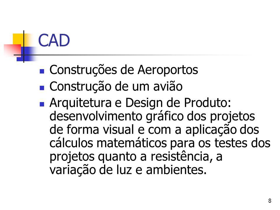 CAD Construções de Aeroportos Construção de um avião