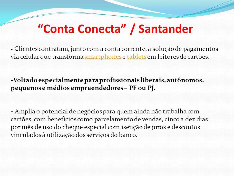 Conta Conecta / Santander