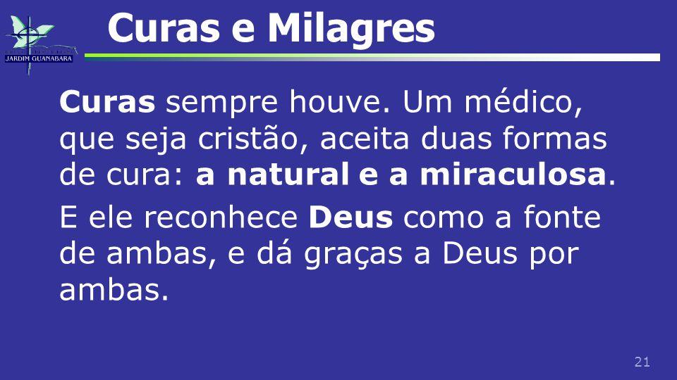 Curas e Milagres
