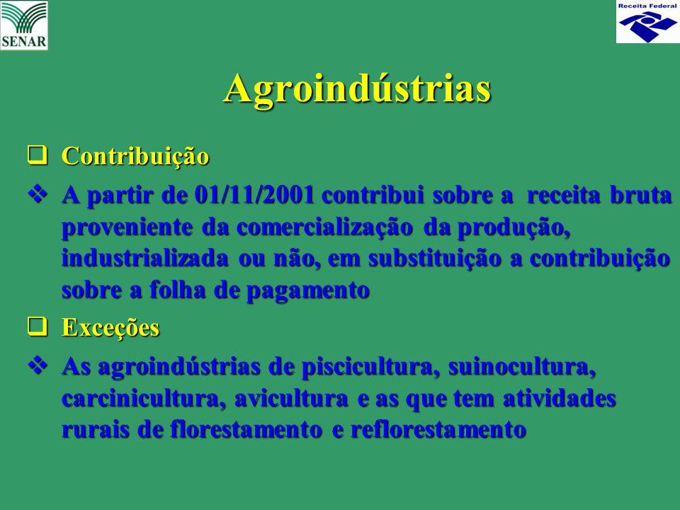 Agroindústrias Contribuição