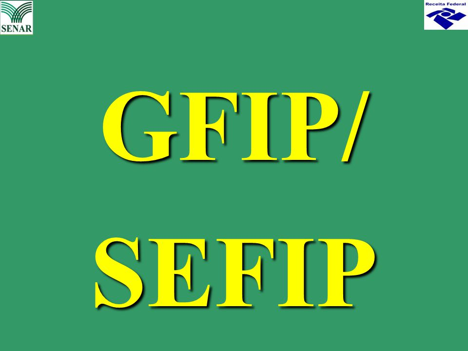 GFIP/ SEFIP