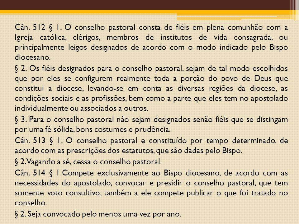 Cân. 512 § 1.