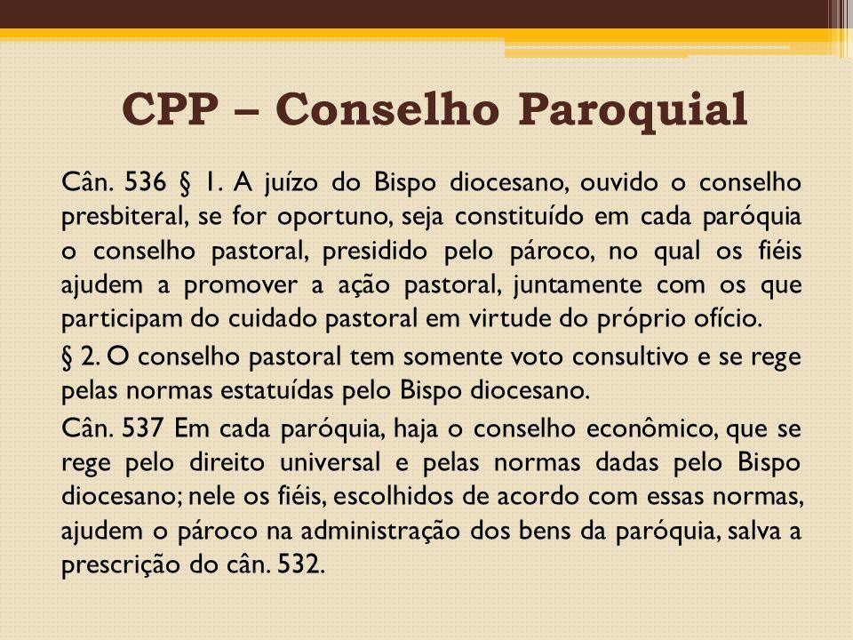 CPP – Conselho Paroquial