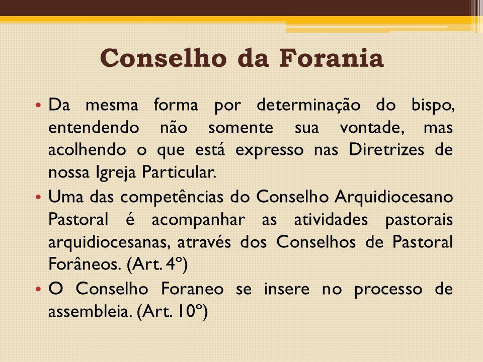 Conselho da Forania