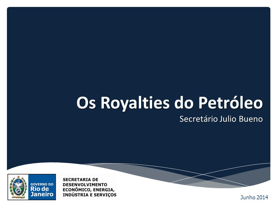 Os Royalties do Petróleo