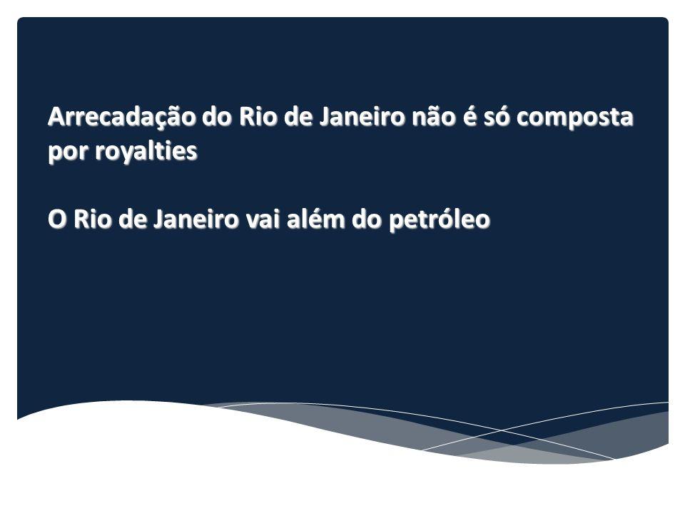 Arrecadação do Rio de Janeiro não é só composta por royalties