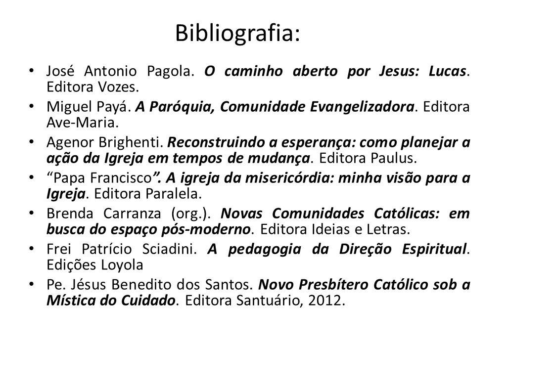 Bibliografia: José Antonio Pagola. O caminho aberto por Jesus: Lucas. Editora Vozes.